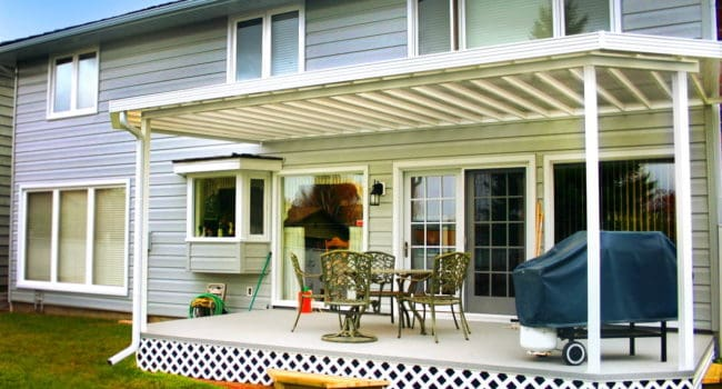 Calgary Patio Cover Pergola