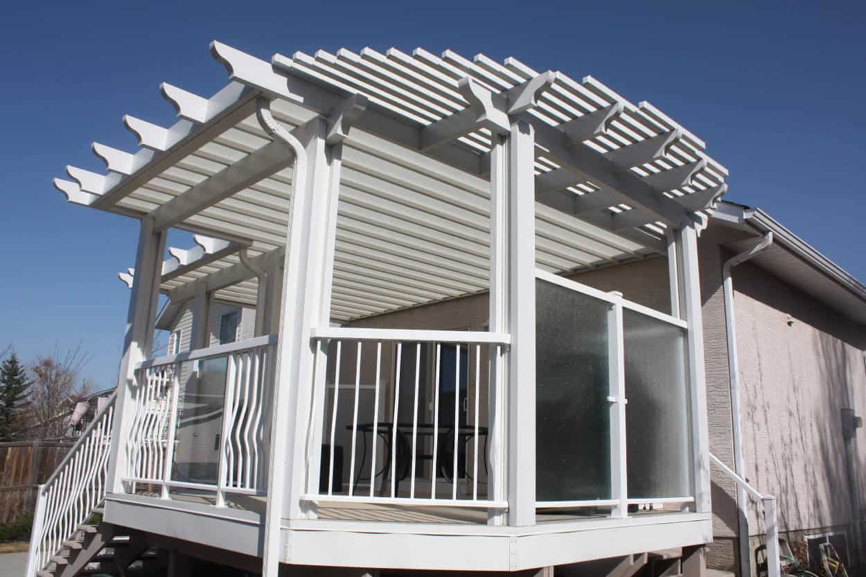 Hybrid Patio Covers In Calgary Desert Sun Patios