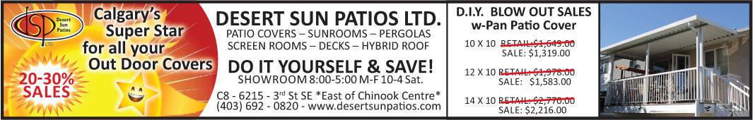Patio Cover DIY Kit Sale
