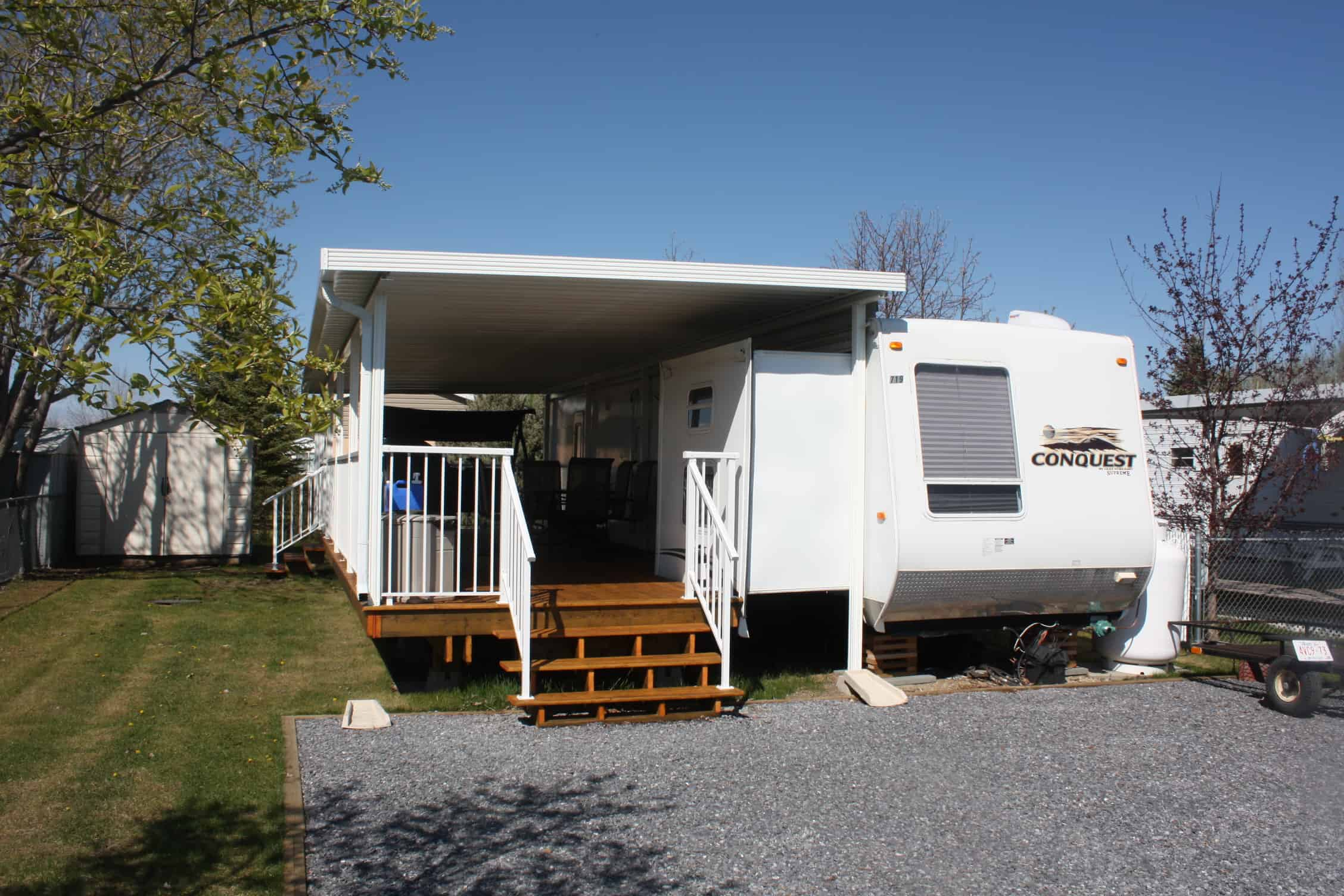 Sunrooms For Rvs : Sunrooms for park models and trailers desert sun patios