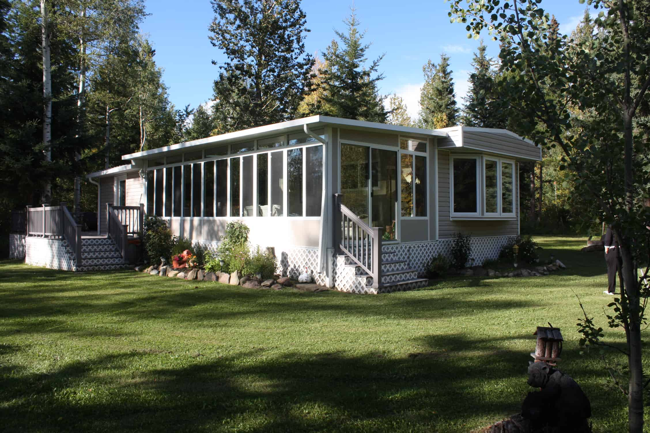 Park Model Trailer Sunrooms in Calgary