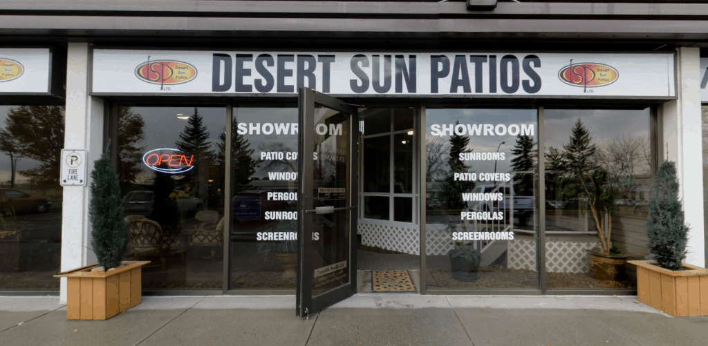 Desert Sun Patios Showroom