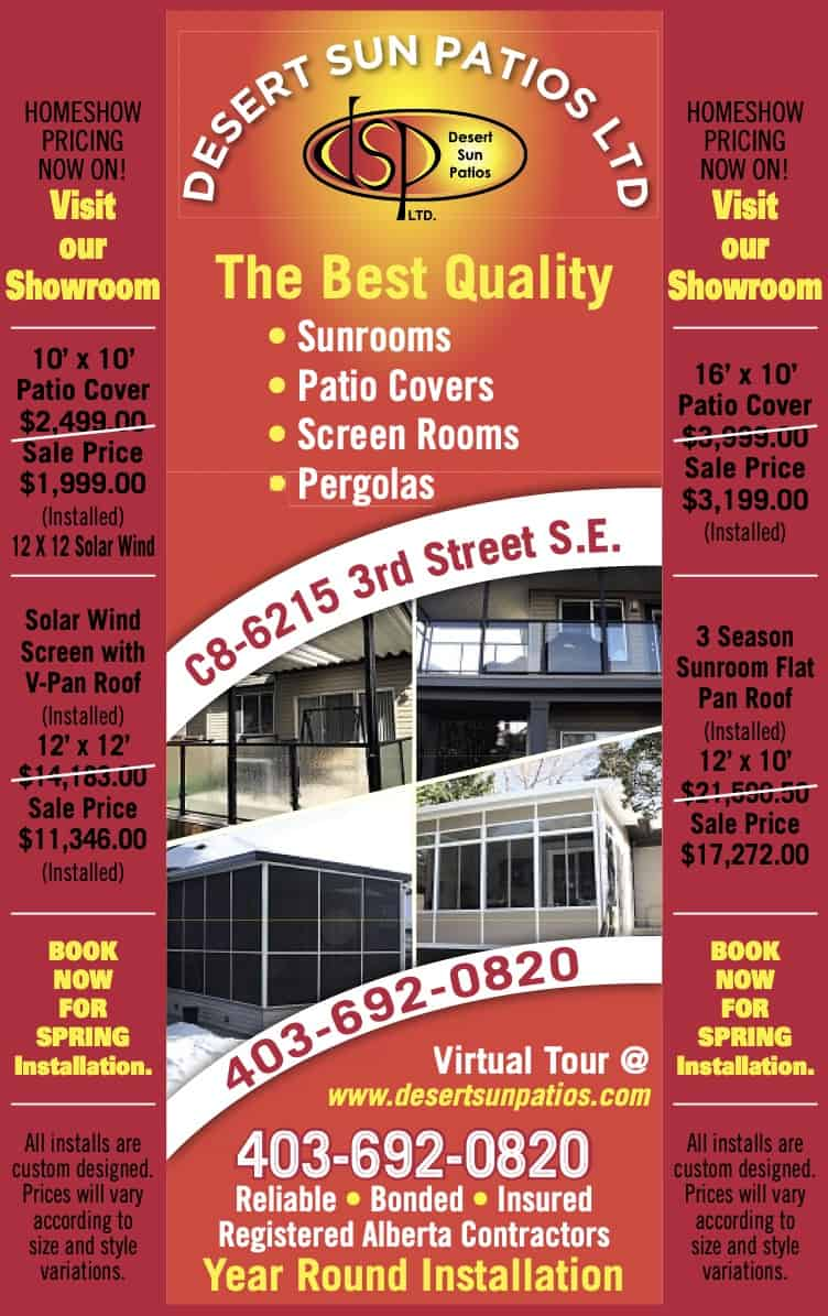 Home show full page ad